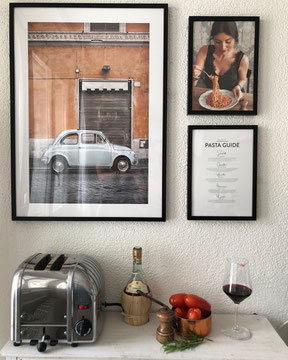 Vintage Car in Rome & Five Pasta classics: PASTA GUIDE