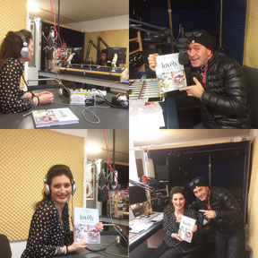 Radio Interview & Vorstellung Backbuch (2016)