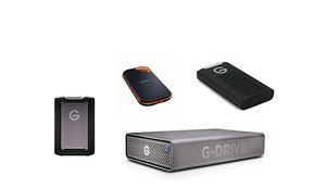 External Storage Devices, SSD, HDD