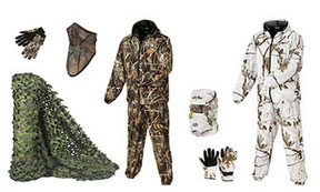 Camo Gear , camouflage clothing and other camo gear  for wildlife photography