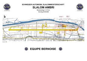 Streckenplan Ambri Sonntag 2021