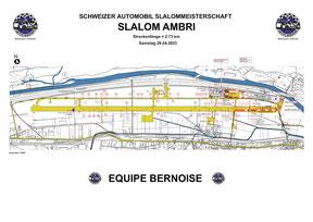 Streckenplan Ambri Samstag 2021