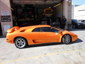 01 Lamborghini Diablo 6.0 last year made.