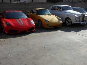 08 FERRARI SCUDERIA, 993 TT AND YES WE EVEN DO ROLLS AND BENTLEY ANY YEAR MODELS