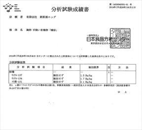 分析試験成績書02