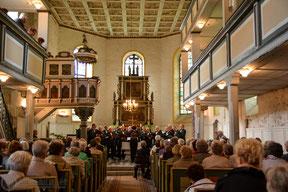 11.05.2014 Muttertagskonzert in der St. Petri-Kirche...