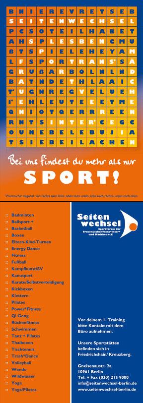 Seitenwechsel Berlin e.V. - Werbekarte