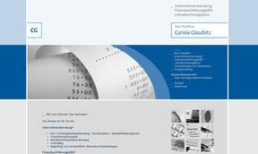 Buchhaltung Glaubitz - Website