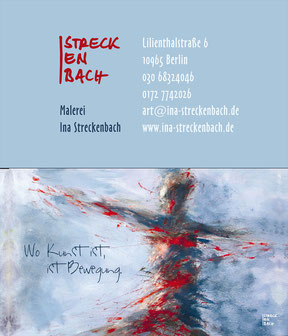 Ina Streckenbach - Visitenkarte