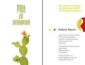 Katrin Raum - Flyer