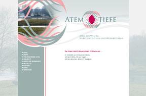 Atemtiefe - Website