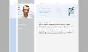 Dr. med. dent. Frank Paqué - Website