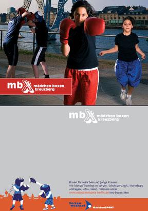 mbx - Werbekarte