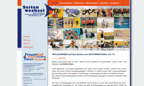 Frauensportverein Berlin - Website