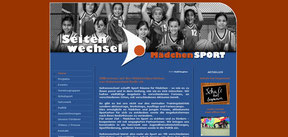 Mädchenbasketballaktion - Website