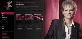 Diskothek mit PEP - Website