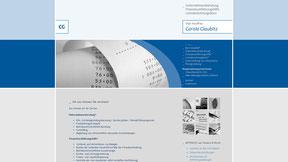 Buchhaltungsbüro Glaubitz - Website