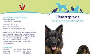 Dr. dralle - Faltblatt