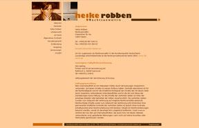 Rechtsanwältin Heike Robben - Website