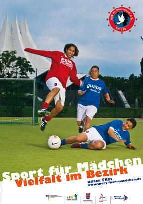 Sport für Mädchen, Vielfalt im Bezirk - Plakate