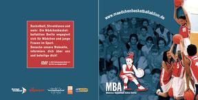Mädchenbasketballaktion - CD-Cover