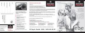 Bestattungshaus Priepke - Faltblatt