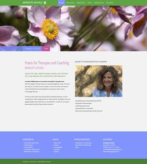 BEWEGTE GESTALT website