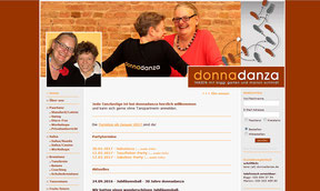 donnadanza - Website