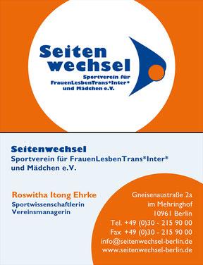 Seitenwechsel Berlin e.V. - Visitenkarte