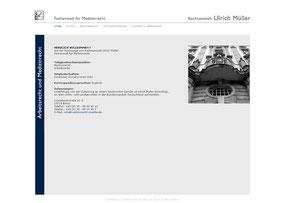 Rechtsanwalt Ulrich Müller - Website