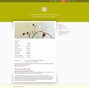Michaela Rackelmann - Website