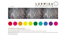 Ludwiga Farbcoaching - Website