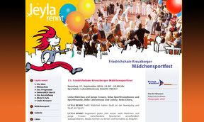 Leyla rennt - Website