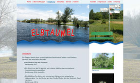 Elbtaumel - Website