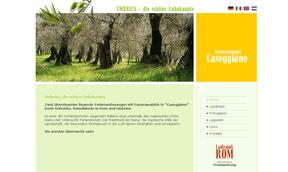 Ferienwohnungen in Umbrien - Website
