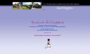 Frauenpension Bertingen - Website