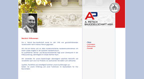 Baugesellschaft mbH Pietsch - Website