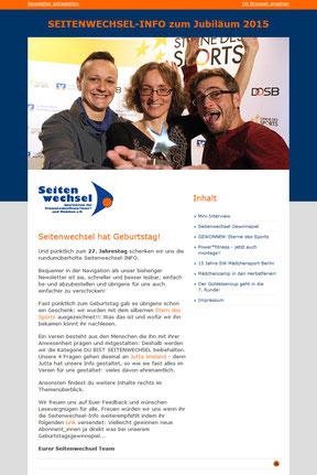Seitenwechsel Berlin e.V. - Newsletter