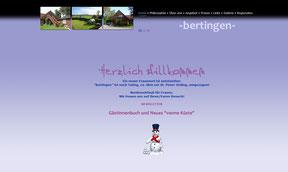 Frauenpension Bertingen - Website