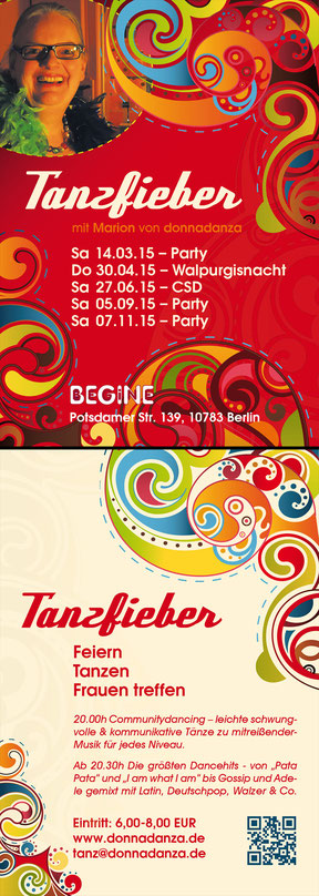 donnadanza - tanzfieber-flyer