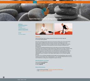 Heilpraktikerin Sigrid Werner - Website