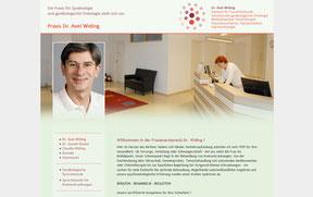 Dr. Axel Widing - Website