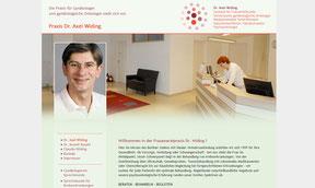 Axel Widing - website