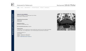 Anwalt Ulrich Müller - Website