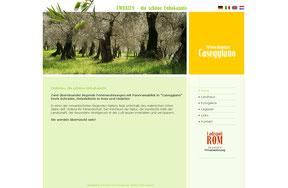 Ferienwohnung Caseggiano in Umbrien - Website