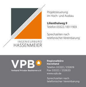 Ingenieurbüro Hassenmeier - Schild