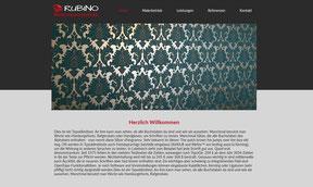 Malerbetrieb Rubino - Website