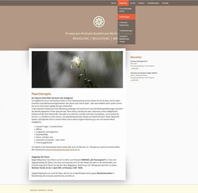 Michaela Rackelmann - Website