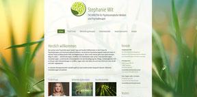 Stephanie Wit  - Ärztliche Psychotherapiepraxis -Website