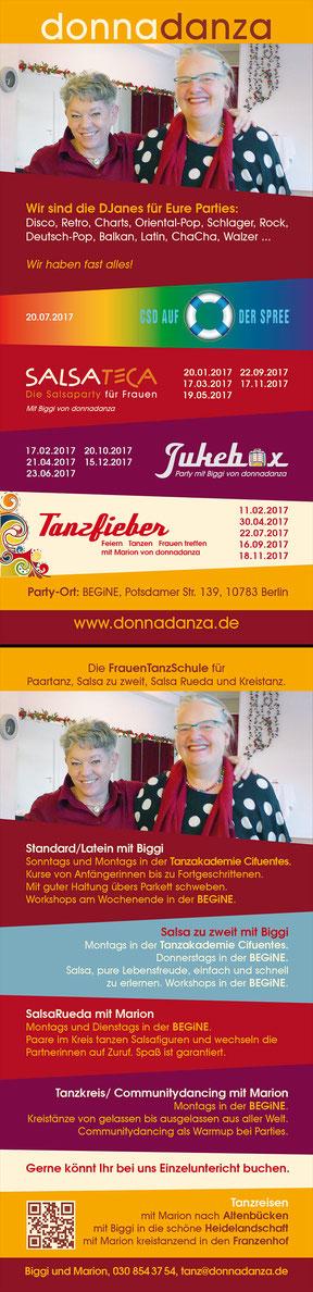 donnadanza - Programm-Flyer